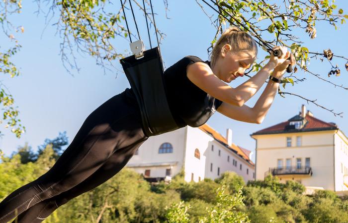 XUpTrainer - originální cvičení doma, venku i v posilovně s vlastní vahou