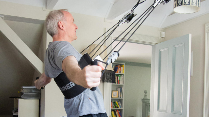 XUP reverse peck deck - exercise for upper back