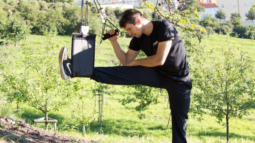 XUP Leg stretch - hamstrings stretch