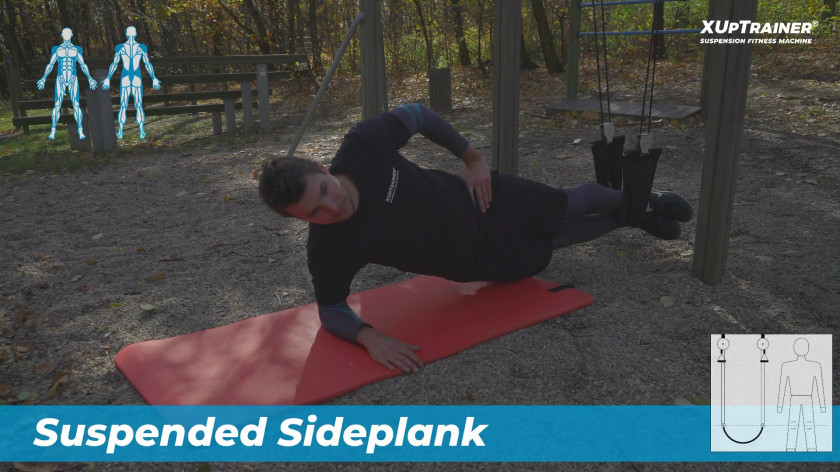 XUP Side core workout - exercise for core muscles