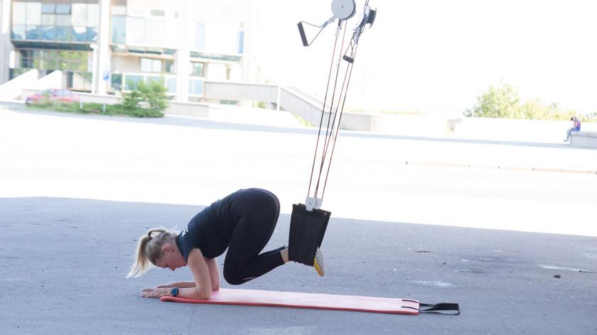 XUP trénink - Jak zhubnout břicho efektivně!