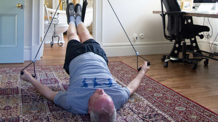 XUP triceps press - workout for sagging arms