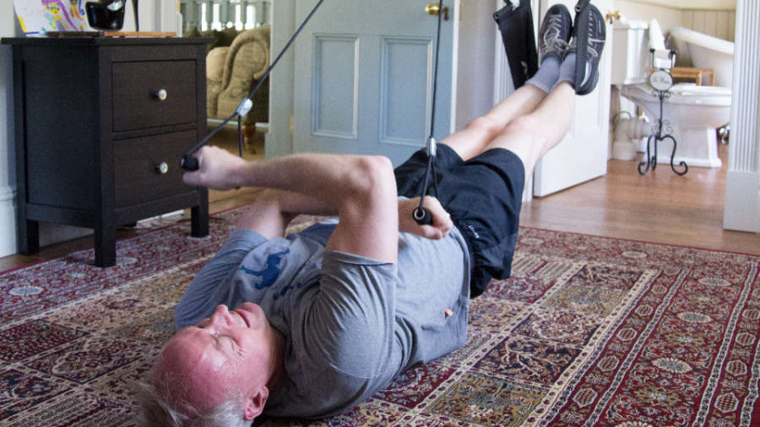 XUP biceps lift with reverse peck deck - workout for biceps and upper back