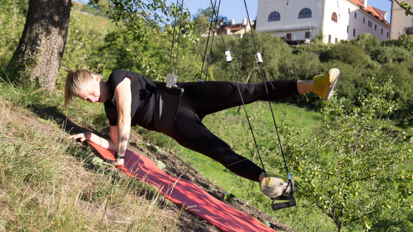 XUP Sideplank Abductor - best exercise for outer thighs and hips