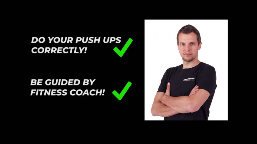 How to do your Push ups correctly - instruction video