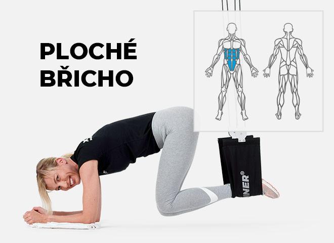 cvičení doma na ploché břicho