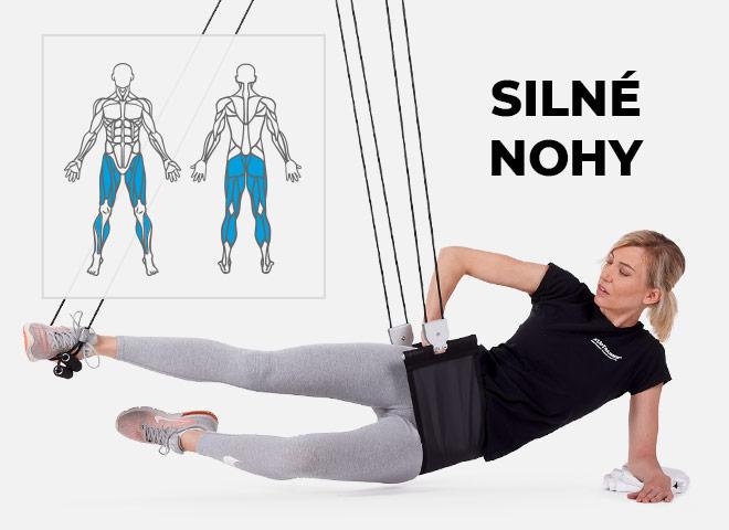 cvičení doma na hýždě, boky a stehna