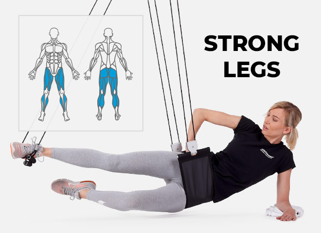 workout at home for glutes, thights and hips