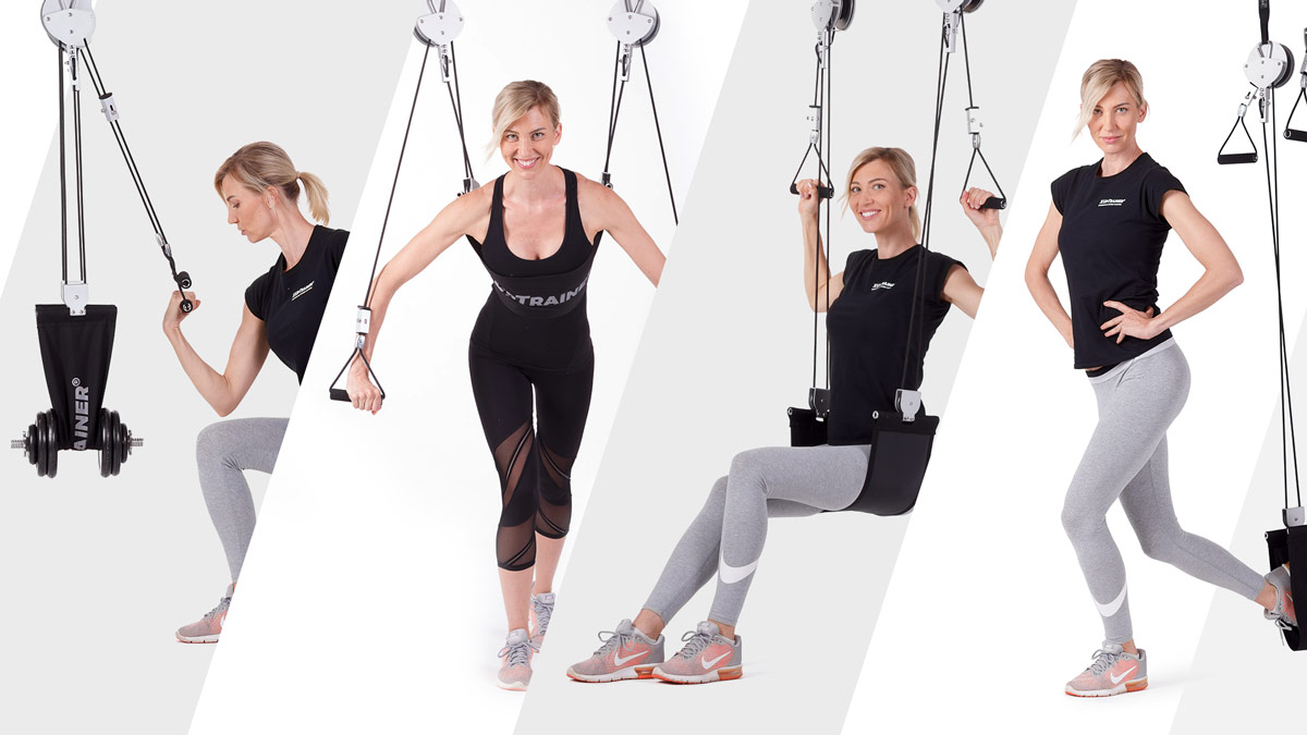 XUpTrainer - suspension fitness multigym for your home gym or professional gym