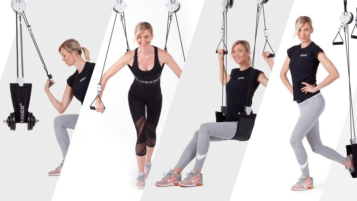 XUpTrainer - závěsná posilovací věž pro cvičení s vlastní vahou
